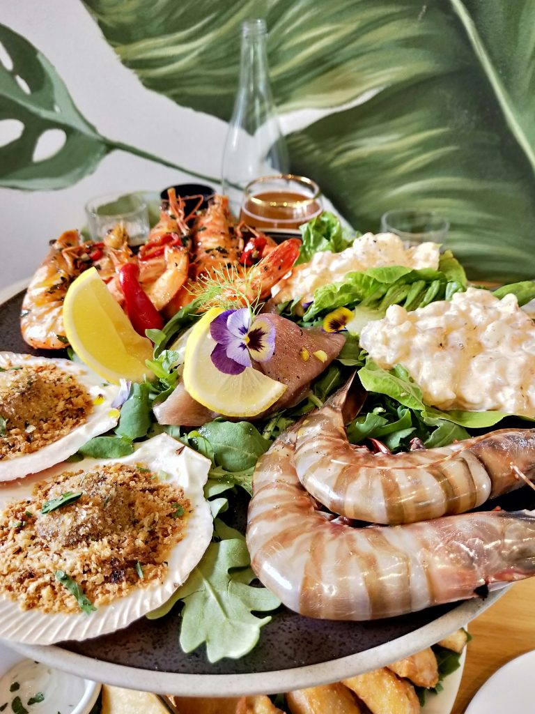 Salt Meats Cheese Seafood Platter